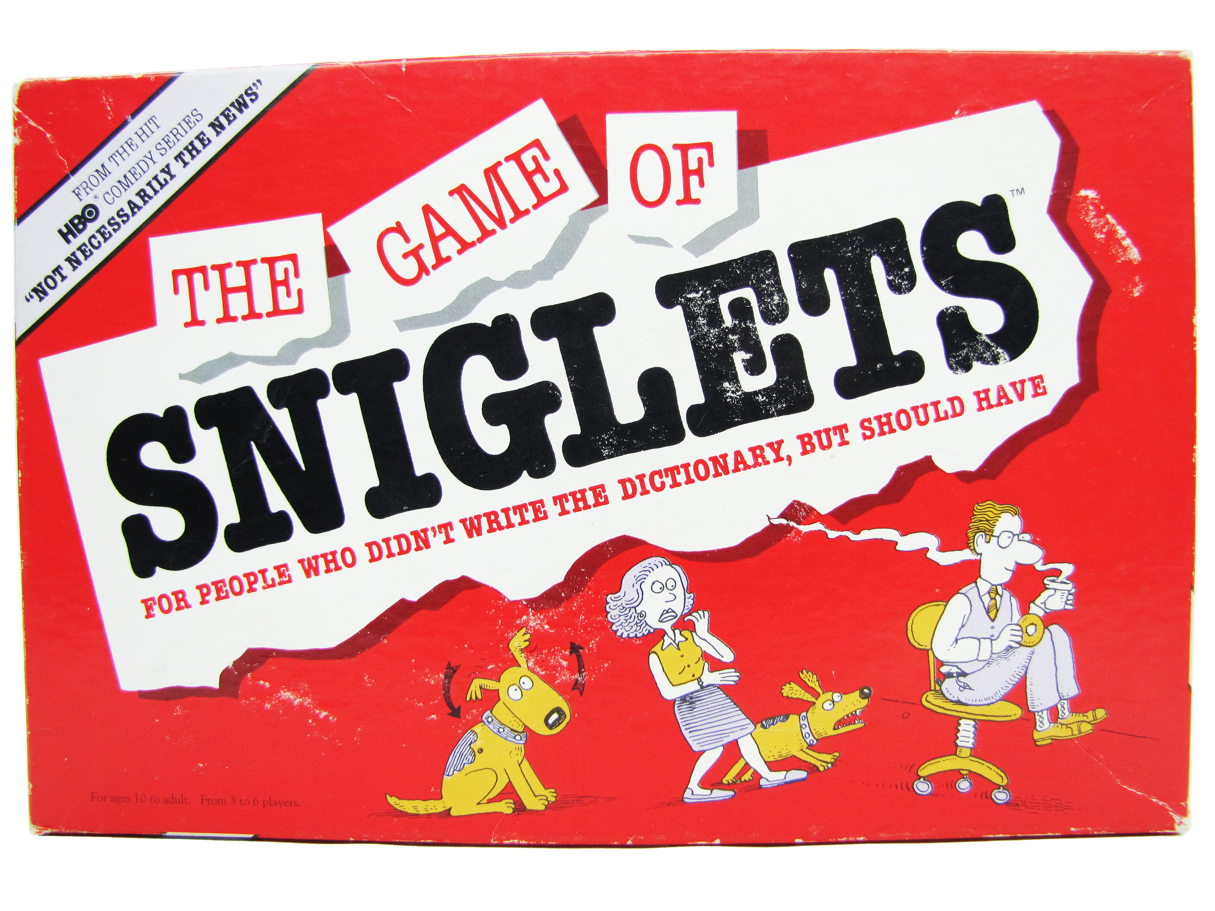 1989 Milton Bradley The Game of Sniglets Board Game Complete